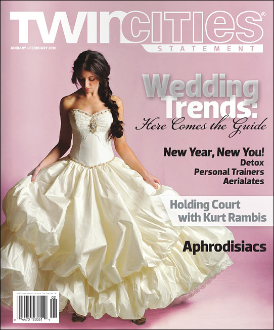 Twin Cities Statement Magazine JanFeb 2010 COVER