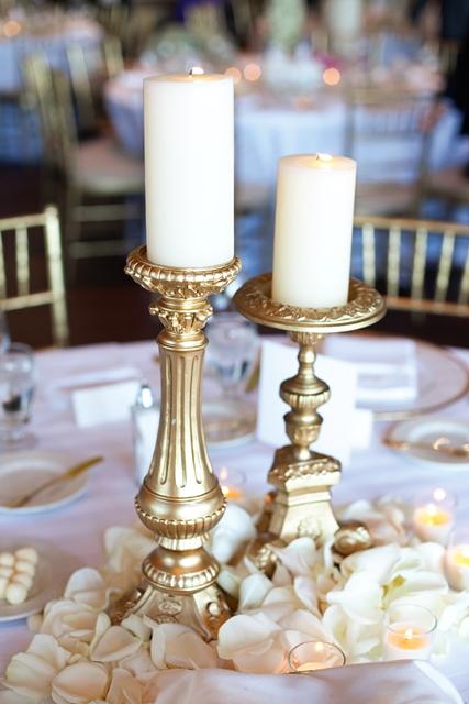 12gold candle sticks