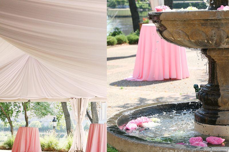 7-tent drape